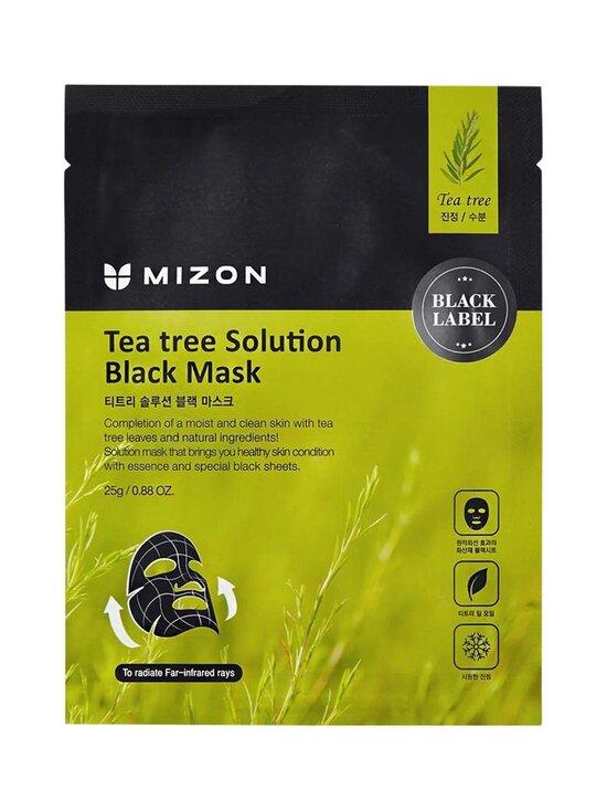 Mizon - Teatree Solution Black Mask -kangasnaamio 25g - NOCOL | Stockmann - photo 1