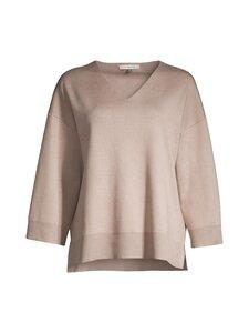 cut & pret - JULIETTE loose V-neck sweater -neule - TAUPE   Stockmann
