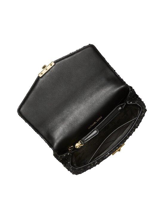 Michael Michael Kors - Soho Small Tweed Shoulder Bag -laukku - 001 BLACK | Stockmann - photo 3
