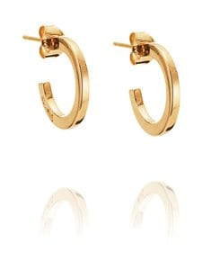 Efva Attling - Little Hoops -korvakorut - GOLD | Stockmann