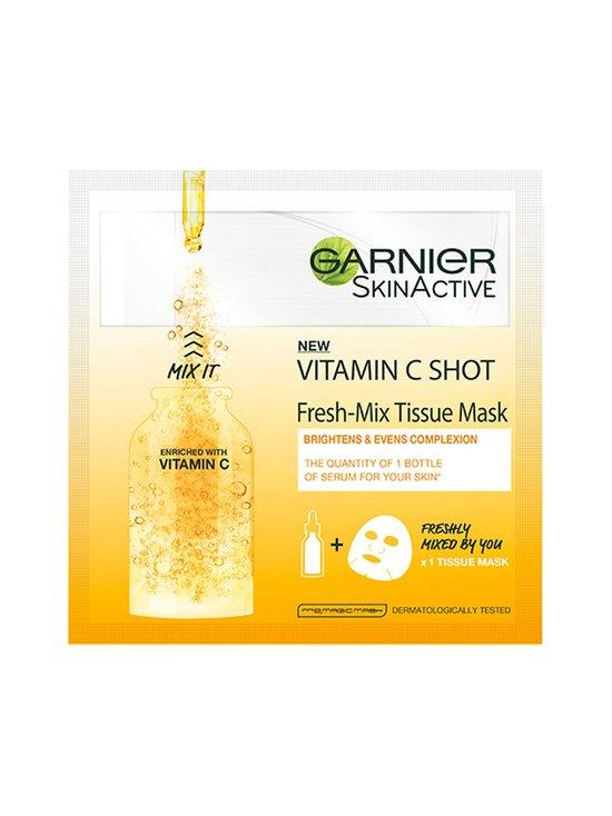 Garnier - Fresh-Mix Tissue Mask Glow Shot With Vitamin C -kasvonaamio 33 g - NOCOL   Stockmann - photo 1