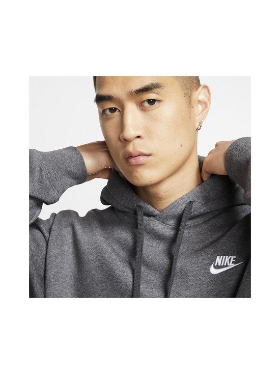Nike - Sportswear Club Fleece -huppari - 071 CHARCOAL HEATHR/ANTHRACITE/WHITE   Stockmann - photo 5