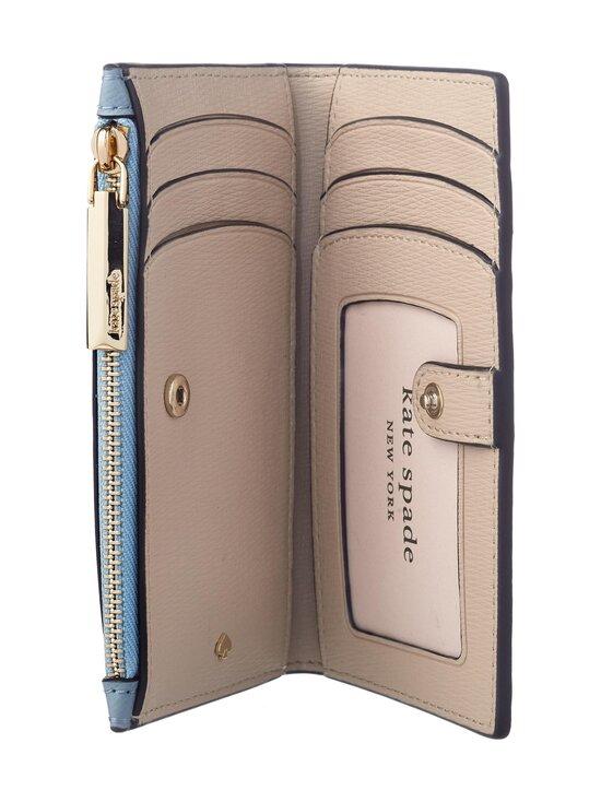 kate spade new york - Spencer Small Slim Bifold Wallet -nahkalompakko - HORIZON BLUE   Stockmann - photo 4