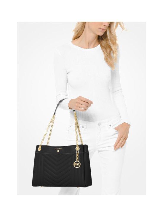 Michael Michael Kors - Susan Medium Quilted Leather Shoulder Bag -nahkalaukku - 001 BLACK | Stockmann - photo 4