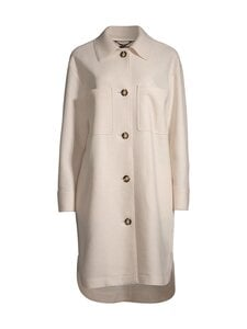 Marc O'Polo - Boiled wool shirt coat -takki - 132 NATURAL WHITE | Stockmann