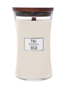 Woodwick - White Teak Large -tuoksukynttilä - WHITE | Stockmann