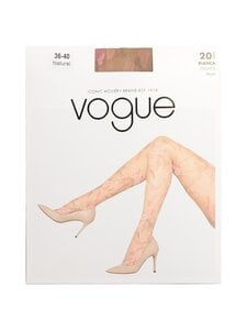 Vogue - Bianca Floral Pattern 20 Den -sukkahousut - 9060 NATURAL   Stockmann