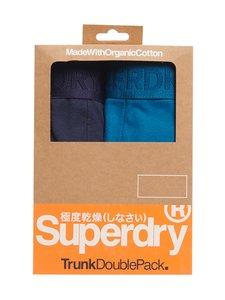 Superdry - Classic Trunk Double -bokserit - 4JZ RICHEST NAVY/QUAYSIDE BLUE | Stockmann