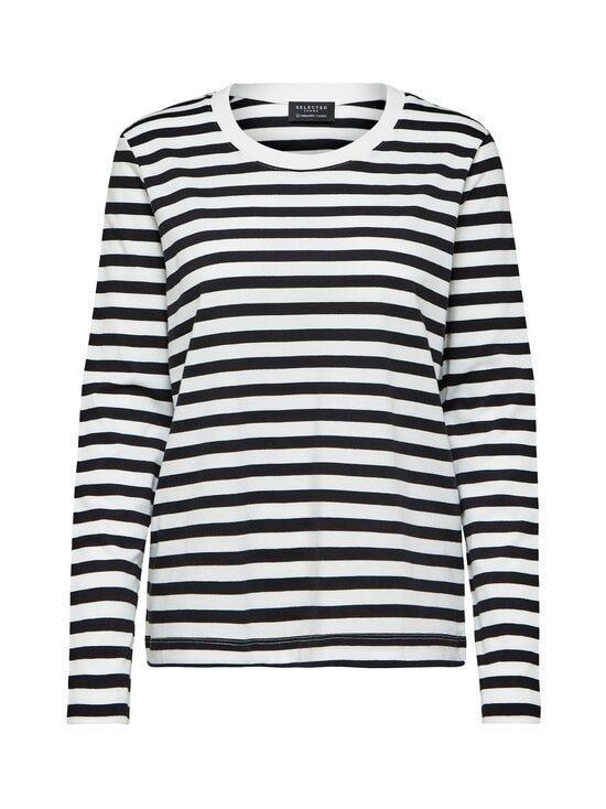 Selected - SlfStandard-paita - BLACK STRIPES:SNOW WHITE | Stockmann - photo 1