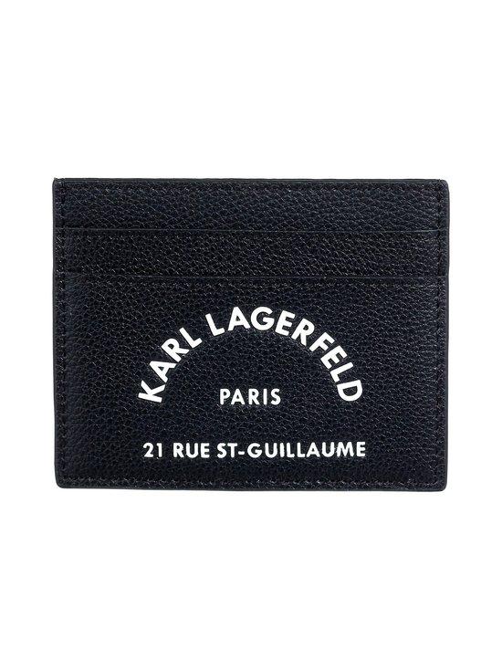 Karl Lagerfeld - Rue St Guillaume -korttikotelo - 999 BLACK   Stockmann - photo 1