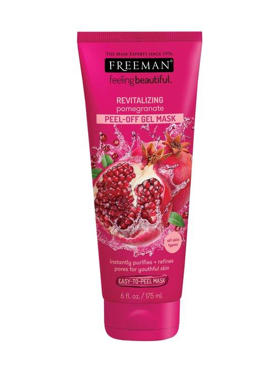 Freeman - Revitalizing Pomegranate Peel-Off Gel Mask -kasvonaamio 175 ml - null | Stockmann - photo 1