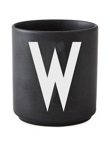 Design Letters - Kirjainmuki, W - MUSTA | Stockmann