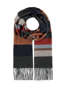 Fraas - Horizontal stripe -huivi - 860 860 BEIGE-ORANGE | Stockmann