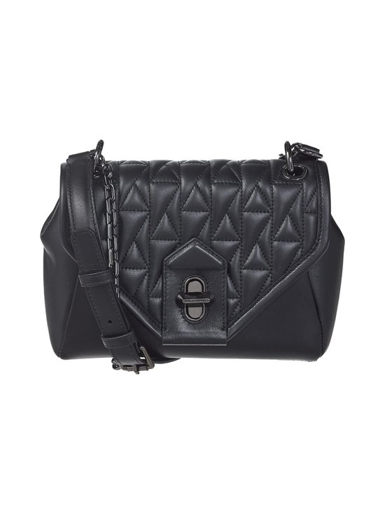 Karl Lagerfeld - K/Studio Small Shoulderbag -nahkalaukku - 999 BLACK | Stockmann - photo 1