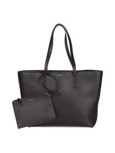 Balmuir - Estelle Shopper -nahkalaukku - BLACK/SILVER | Stockmann