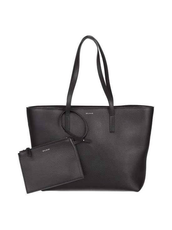 Balmuir - Estelle Shopper -nahkalaukku - BLACK/SILVER | Stockmann - photo 1