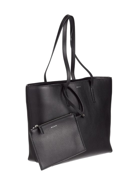 Balmuir - Estelle Shopper -nahkalaukku - BLACK/SILVER | Stockmann - photo 2