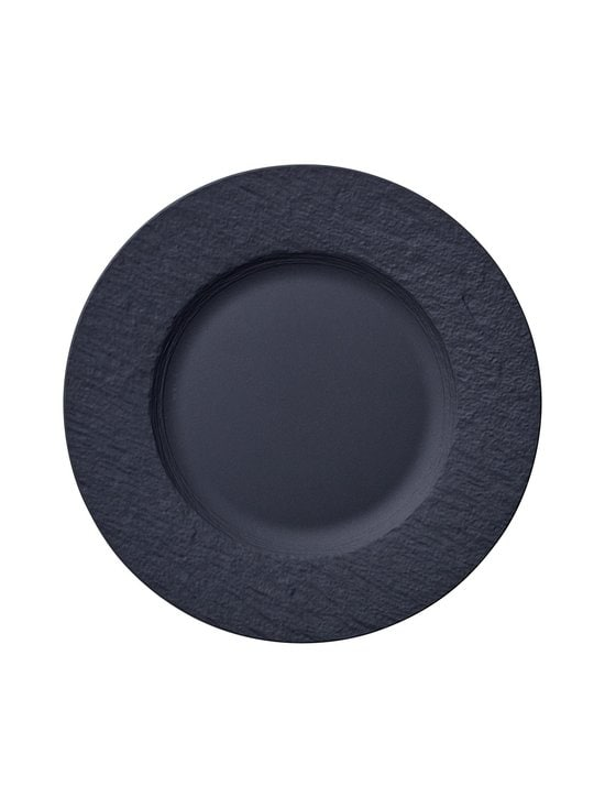 Villeroy & Boch - Manufacture Rock -lautanen 22 cm - BLACK | Stockmann - photo 1