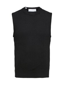Selected - SlhJoen Knit Waistcoat -neuleliivi - BLACK | Stockmann