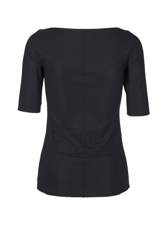 Filippa K - Slim Mid Sleeve Top -paita - 1433 BLACK | Stockmann - photo 2
