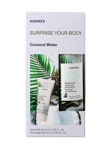 Korres - Surprise Your Body Coconut Water Collection -vartalonhoitopakkaus - null   Stockmann