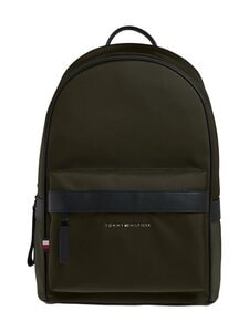 Tommy Hilfiger - Elevated Nylon Backpack -reppu - MSH CAMO GREEN | Stockmann