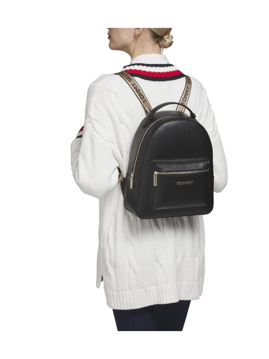 Tommy Hilfiger - Iconic Tommy Backpack -reppu - BDS BLACK | Stockmann - photo 4