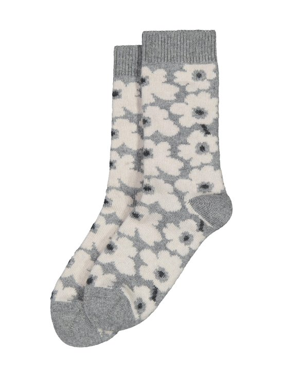 Marimekko - Umina-villasekoitesukat - 091 GREY, OFF WHITE, DARK GREY | Stockmann - photo 1