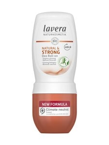 Lavera - Deo Roll-On Natural & Strong -deodorantti 50 ml   Stockmann