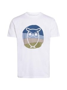 Knowledge Cotton Apparel - T-paita - 1010 BRIGHT WHITE | Stockmann