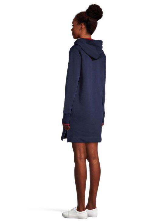 GANT - Graphic Sweat Hoodie Dress -mekko - 409 CLASSIC BLUE | Stockmann - photo 3