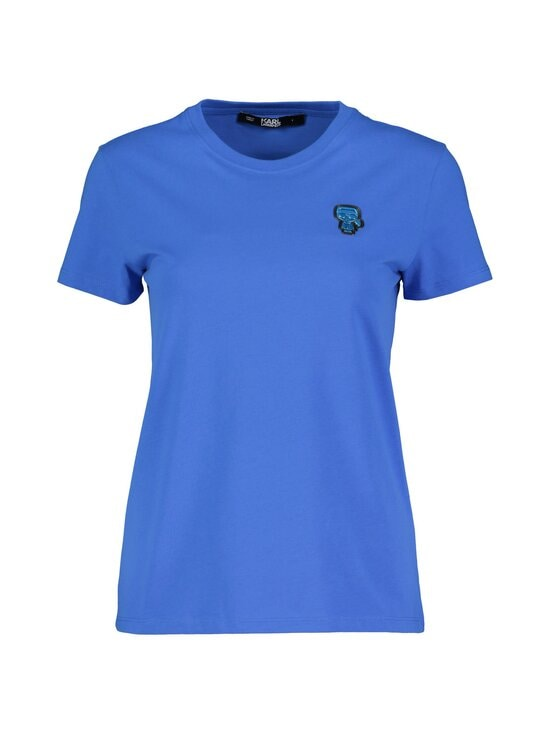 Karl Lagerfeld - Karl Patch T-shirt -paita - PRINCESS BLUE | Stockmann - photo 1