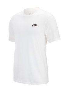 Nike - M Sportswear Club -paita - WHITE/BLACK | Stockmann
