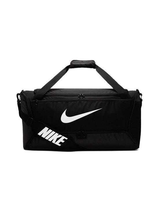 Nike - Brasilia Training Duffel Bag Medium -laukku - 010 BLACK/BLACK/WHITE | Stockmann - photo 1