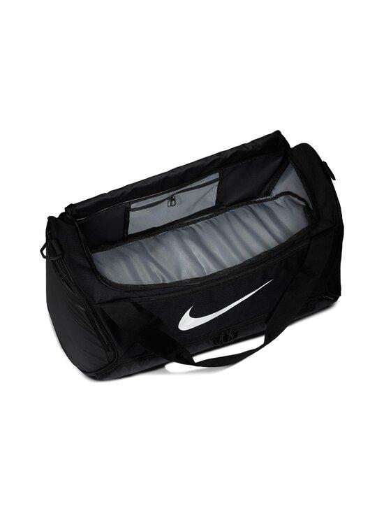 Nike - Brasilia Training Duffel Bag Medium -laukku - 010 BLACK/BLACK/WHITE | Stockmann - photo 4