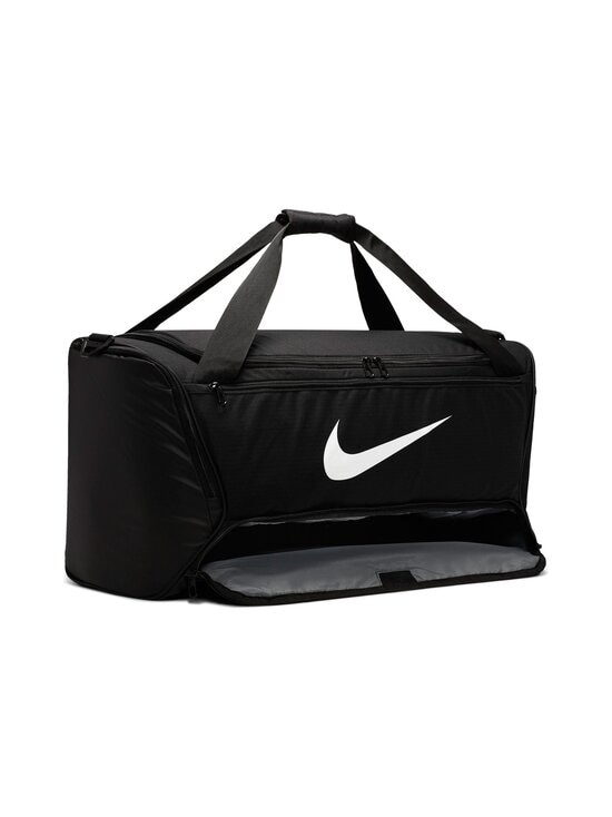 Nike - Brasilia Training Duffel Bag Medium -laukku - 010 BLACK/BLACK/WHITE | Stockmann - photo 5