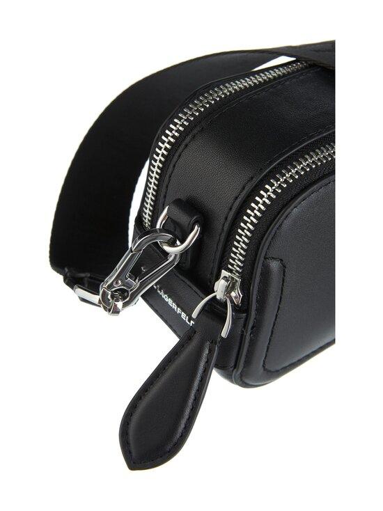 Karl Lagerfeld - K/Ikonik 3D Pin Camera Bag -nahkalaukku - 999 BLACK   Stockmann - photo 3