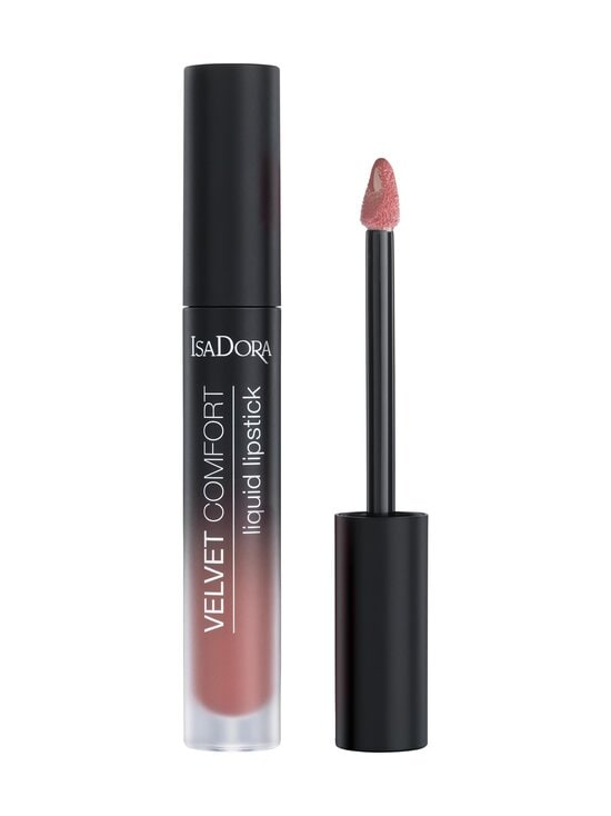 Isadora - Velvet Comfort Liquid Lipstick -huulipuna 4 ml - 52 CORAL ROSE | Stockmann - photo 1