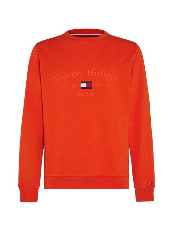 Tommy Hilfiger - Organic Cotton 1985 Logo Sweatshirt -collegepaita - SNC TUCSON ORANGE   Stockmann - photo 1