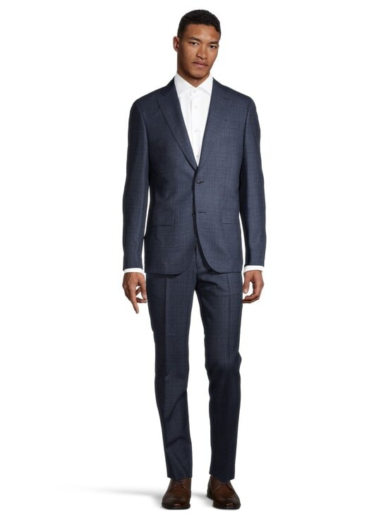 SAND Copenhagen - Star Napoli Craig Normal Suit -puku - MEDIUM BLUE 570 | Stockmann - photo 2