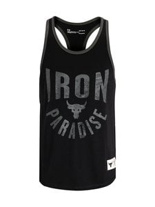 Under Armour - Projeckt Rock Iron Paradise -paita - 001 BLACK / / SUMMIT WHITE | Stockmann