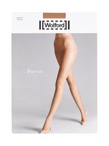 Wolford - Pure 10 den -sukkahousut - GOBI (BEIGE) | Stockmann