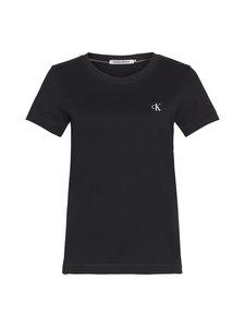 Calvin Klein Jeans - Embroidery Slim Tee -paita - BAE CK BLACK | Stockmann