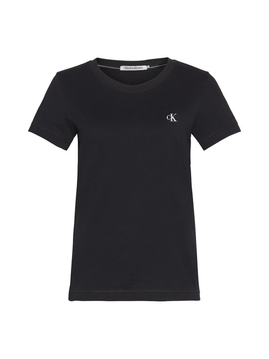 Calvin Klein Jeans - Embroidery Slim Tee -paita - BAE CK BLACK | Stockmann - photo 1