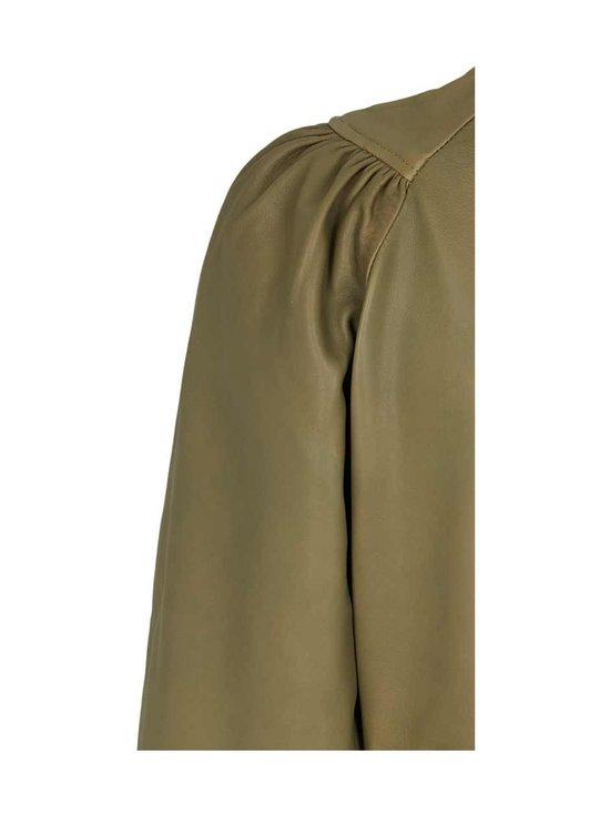 BRUUNS BAZAAR - Petrah Zia Dress -nahkamekko - DEEP OLIVE | Stockmann - photo 5