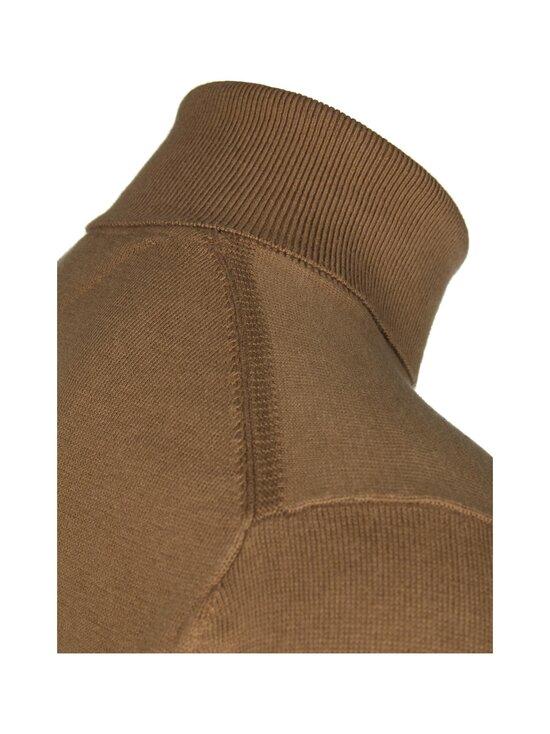Tommy Hilfiger - Pima Cotton Cashmere Roll Neck -neule - HIL CLASSIC CAMEL HEATHER | Stockmann - photo 3