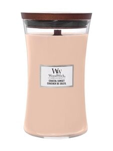 Woodwick - Coastal Sunset Large -tuoksukynttilä - PINK | Stockmann