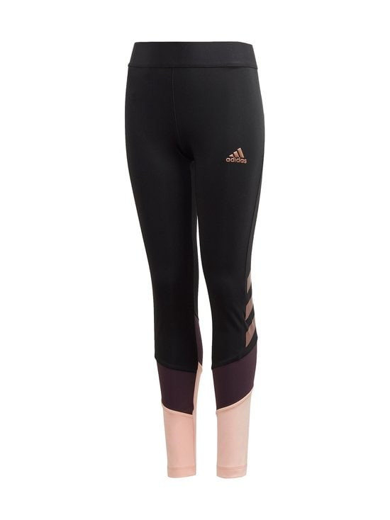 adidas Performance - The Future Today AEROREADY -leggingsit - BLACK/SIGPNK/NOBPRP/ | Stockmann - photo 1