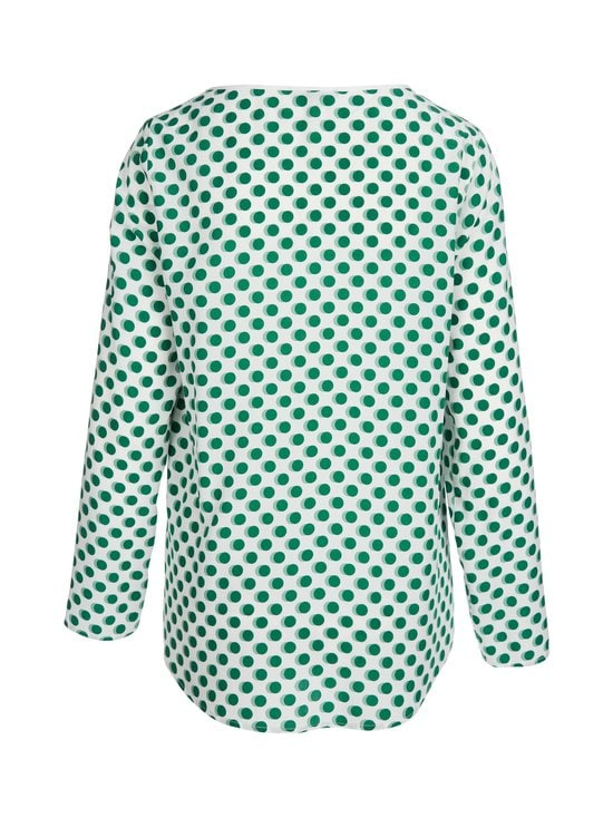 Marc O'Polo - Pusero - D11 OFF WHITE WITH GREEN SPOTS | Stockmann - photo 2