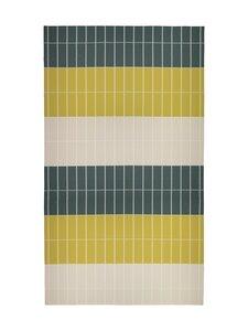 Marimekko - Tiiliskivi-pöytäliina 156 x 280 cm - 686 D.GREEN, SAND, BRASS | Stockmann